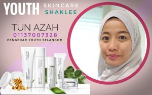 Pengedar YOUTH Skin Care Malaysia, Singapore, Brunei