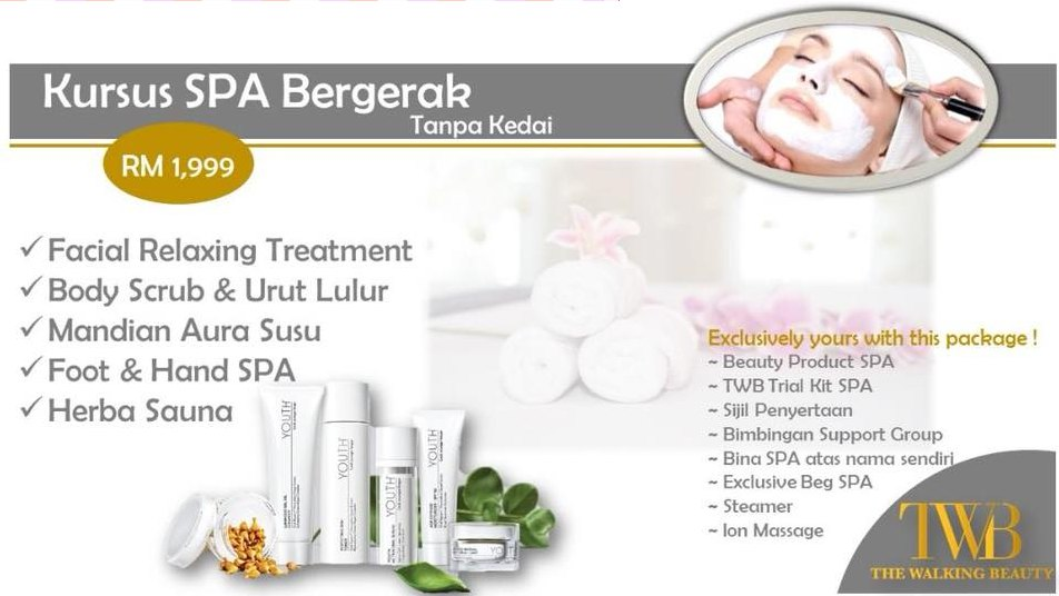 Home Mobile Spa Muslimah