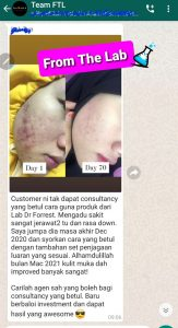 Testimoni Projek FTL Side Income PKP From The Lab