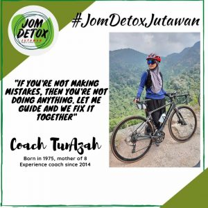 Coach Tun Azah - Jom Detox Jutawan
