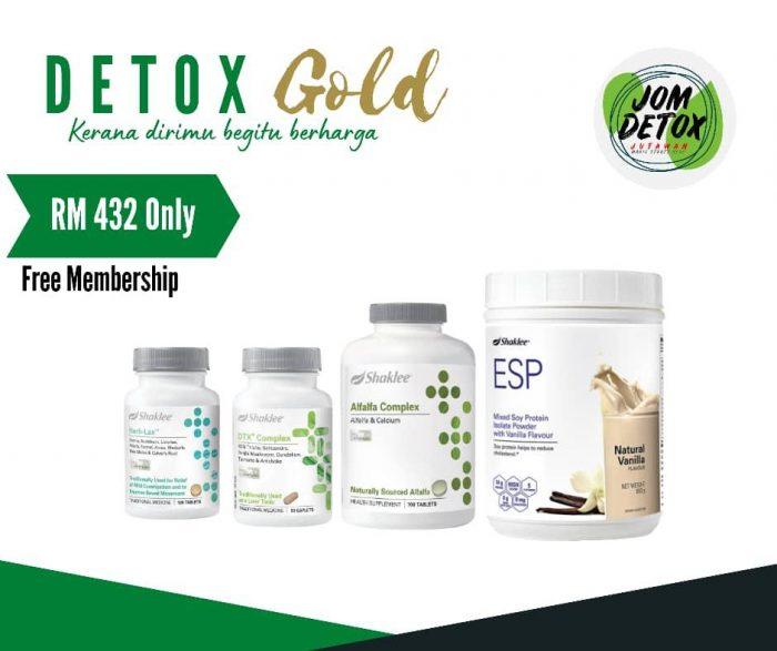 Set Detox Gold