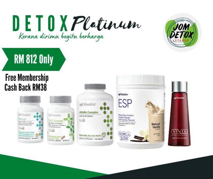 Set Detox Platinum