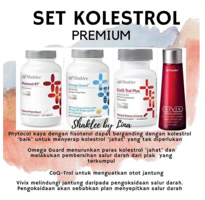 Set Kolesterol Shaklee